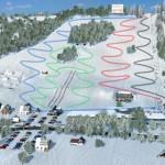 mapa trasy narciarskie