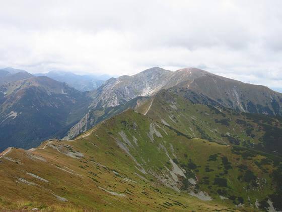 Widok z Kasprowego Wierchu