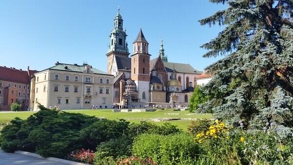 Zwiedzanie Wawelu w Krakowie