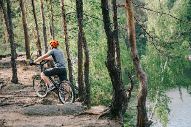 Wybieramy rower do jazdy w górach